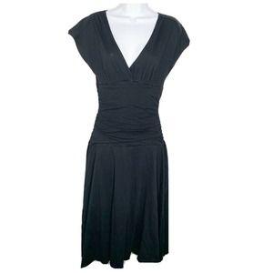 VELVET by Graham and Spencer black knit dress